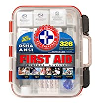 Be Smart Get Prepared First Aid Kit that meets or exceeds  OSHA guidelines