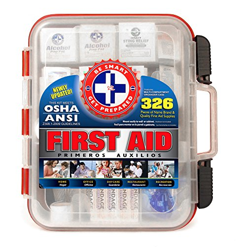 326 Piece Hard First Aid Travel Kit
