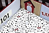 Disney Traditional Padded Bumper, 101 Dalmatians by Disney Baby