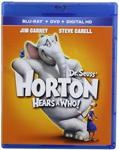 Blu-ray : Dr. Seuss' Horton Hears a Who! (Pan & Scan, Icons O-Ring)