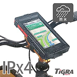 TiGRA Sport iPhone6s Plus 自転車 バイク ホルダー マウント ケース 防水 防塵 耐衝撃 BikeCONSOLE for iPhone6/6s Plus(5.5)