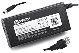 Pwr+® 14 Ft AC Adapter Laptop Charger for Hp Pavilion G4 G6 G6x G7 G7t Dm4 Dm4t Dm4x Dm4-2070us; HP ProBook 215 255 340 430 440 450 455 640 645 650 655 G1; HP EliteBook Revolve 810 820 850 G1 65 Watt Power Supply Cord Notebook Battery Plug