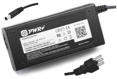 Pwr+® Ac Adapter For Hp Pavilion Dv4-1155Se Dv4-4031He ; Dv5-2073Nr ; Dv6-6104Nr Dv6-6108Us Dv6-6113Cl Dv6-6C13Nr ; G4-1311Nr ; G6-1B71He G6-1C55Nr G6-1D62Nr G6-1D70Nr ; G7-1261Nr G7-1264Nr G7-1318Dx G7-1321Nr ; 65 Watt Laptop Battery Charger Notebook Pow