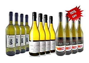 Mixed New Zealand Marlborough Sauvignon Blanc Wine collection. Case of 12 bottles