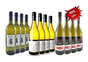 Mixed New Zealand Marlborough Sauvignon Blanc Wine collection. Case of 12 bottles