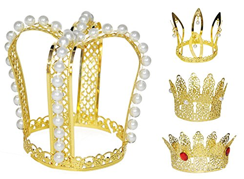 prinzessin krone gold tolles accessoire f r karneval. Black Bedroom Furniture Sets. Home Design Ideas