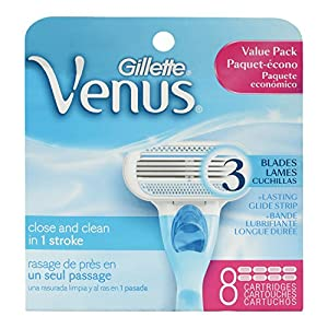 Gillette Venus Original Women's Razor Refill Cartridges 8 Count