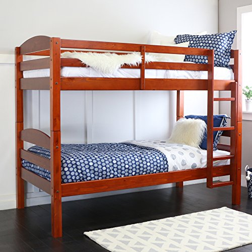 WE Bunk Beds Kids Bedroom Furniture Full Size Twin