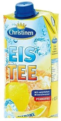 Christinen Eistee Zitrone 0,5l von Christinen auf Gewürze Shop