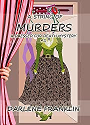 A String of Murders, A Christian Cozy Mystery (A Dressed for Death Mystery Book 2)