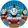 Thomas & Friends Dessert Plates 8 Ct.