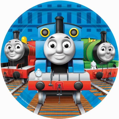 Thomas & Friends Dessert Plates 8 Ct.