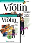 PLAY VIOLIN TODAY! (BEGINNER'S PACK)...