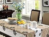 食卓が華やぐ 防水 撥水 テーブル クロス 137cm x 183cm (タイプF)