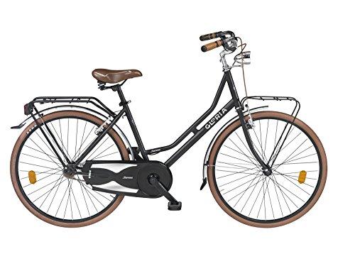 Cicli Gloria Barona Holland Bicicletta 26, Nero
