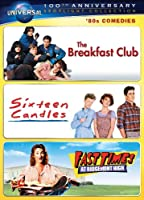 80s Comedies Spotlight Collection The Breakfast Club Sixteen Candles Fast Times At Ridgemont High Universals 100th Anniversary from Universal Studios