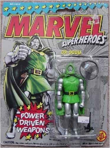"Marvel Super Heroes DR. DOOM 5"" Action Figure (1993 ToyBiz)"