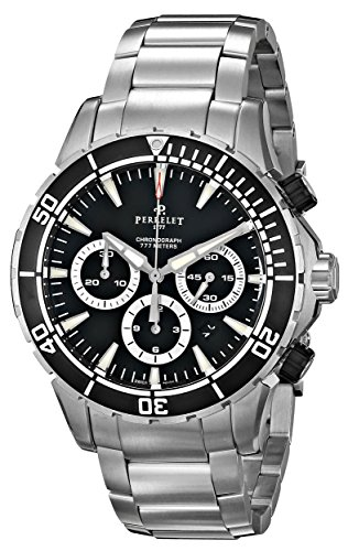Perrelet Diver Seacraft Chronograph Men's Automatic Watch A1054-B
