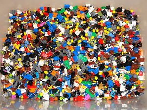 2016 Collection 1/4 Pound Lego Minifig Parts & Pieces HEADS LEGS BODY star wars ninjago city - Great Value (Body Part Dice compare prices)