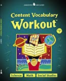 Jamestown Education, Content Vocabulary Workout, Student Edition, Grade 7