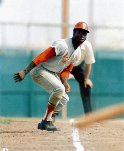 Lou Brock Vintage St. Louis Cardinals 8x10 Photo #3 - Mint Condition at Amazon.com