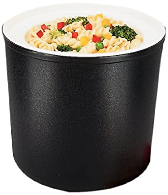 Carlisle CM103003 Black 2 Quart Coldmaster Coldcrock with Coaster