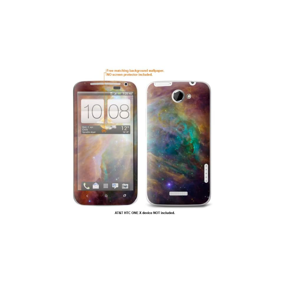 """Protective Decal Skin Sticker for AT&T HTC ONE X """"AT&T version"""" case cover attONEx 88 Cell Phones & Accessories"""