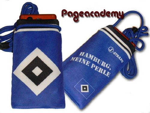 HSV Hamburger SV Handysocke / Handytasche / Mp3 & 4 Playertasche Motiv: Basic