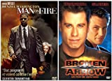 echange, troc Man On Fire / Broken Arrow - Bipack 2 DVD