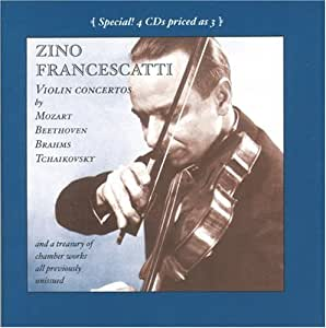 Zino Francescatti In Performance: Previously Unissued Recordings*4 CDs priced as 3*