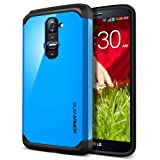 SPIGEN LG G2 Case Slim [Slim Armor] [Dodger Blue] Dual Layer Protective Case For T-Mobile International ONLY -...
