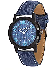 Asgard Analog Black Dial Watch For Men-BB-10