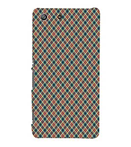 Colourful Pattern 3D Hard Polycarbonate Designer Back Case Cover for Sony Xperia M5 Dual :: Sony Xperia M5 E5633 E5643 E5663