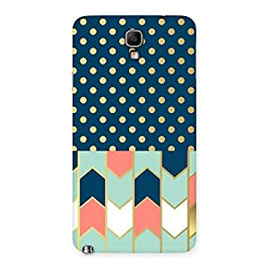 Stylish Pattern Pastal Back Case Cover for Galaxy Note 3 Neo