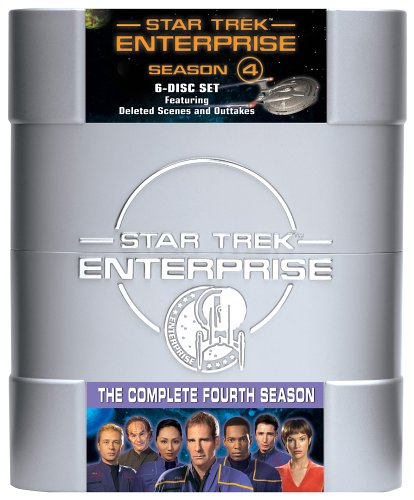 Cover art for  Star Trek Enterprise - The Complete Fourth Season