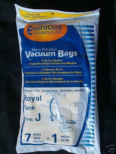 28 Designed To Fit Royal Dirt Devil J Vacuum Bags front-579247
