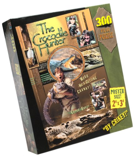 Crocodile Hunter Poster Puzzle 300-piece Puzzle