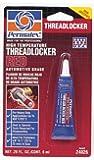Permatex 24026 High Temperature Threadlocker Red, 6 ml