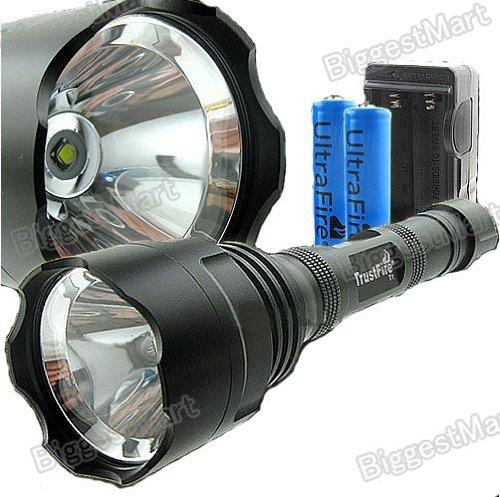 3800lm 3x Cree XML Xm-l T6 LED Trustfire Flashlight
