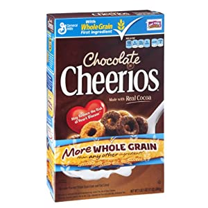 Cheerios, Chocolate, 17 Oz Box