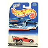 Hot Wheels - 1998 First Editions - Tow Jam - Red - #25 Of 40 - Collector #658 - Limited Edition - Co