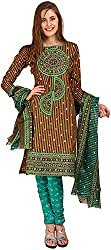 Parchayee Women's Cotton Dress Material (Printed_Multicolor_Free Size)