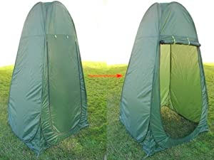Portable Shower Changing Tent Camping Toilet Pop Up Room Privacy Outdoor With Bag