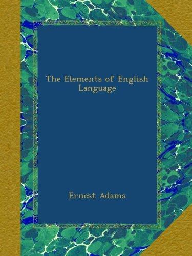 the-elements-of-english-language