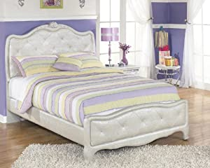 Julia Silver and Pear Girl's Full Size Bed from Furnituremaxx