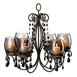10015103 Wholesale Midnight Elegance Chandelier Candles Candle Lantern Fire Heat Light Whmart by hyrekos