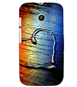 MOTOROLA MOTO E HEART Back Cover by PRINTSWAG