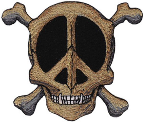 Application Mouse and Kelley Peace Skull Patch