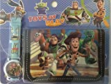 Toy Story 3 movie Watch wristwatch and Purse Wallet Set For Children ~ BUZZ Lightyear Woody T-REX and Horse (Bullseye)