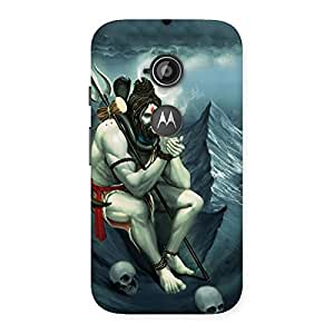 Cute Shiva Multicolor Back Case Cover for Moto E 2nd Gen